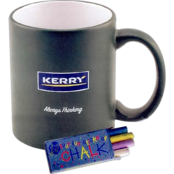 Black - 5 Working Days - Chalkboard Mug, 11 Oz Photo