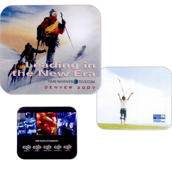 5 Working Days - Full Color Recycled Soft Surface Mouse Pad Photo