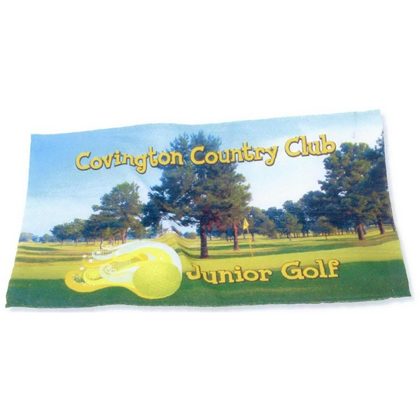 Soft, Durable Cotton Polyester Full Color Rally Towel Photo