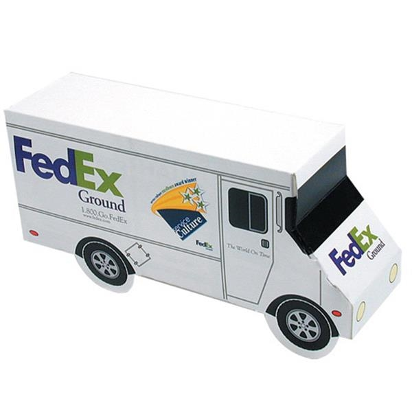 Promopack (tm) - Delivery Truck Box Great For Packaging Any Promotional Product Photo