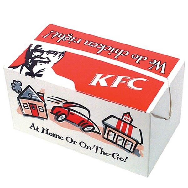 Promopack (tm) - Food Take Out Box - Promotional Box Great For Packaging Any Promotional Product Photo