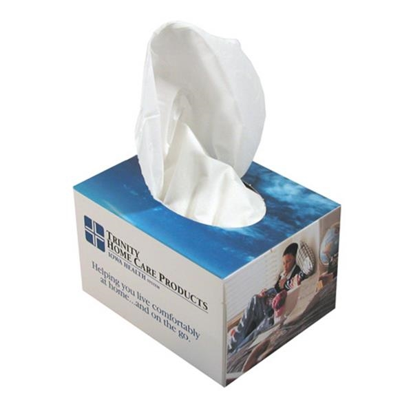Sniftypak (tm) - Facial Mini Cube Shape Tissue Box Photo