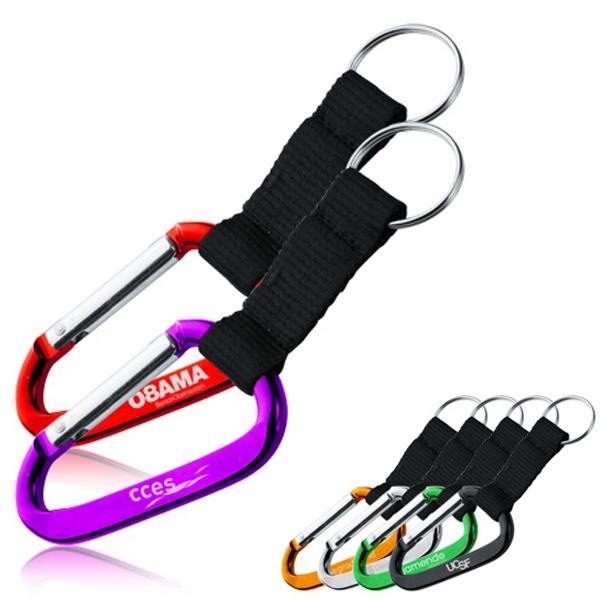 Carabiner & Strap Keychains