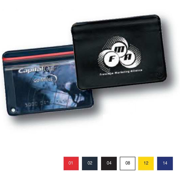 Waterproof Vinyl Wallet Without Key Ring That Holds Cards And Id's Photo