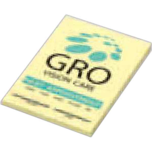 "Post-it (r) Brand - Notes - 2"" X 3"", 25 Sheets, 2 Color - Custom Printed Notepads Photo"