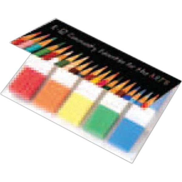 Flag mini set - Neon highlighting flag mini set with cover, 1-4 color.
