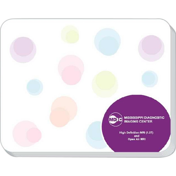 "Memo Pad Mouse Pad With 40 Sheets And Rounded Corner Edges, 7"" X 5 1/2"" Photo"