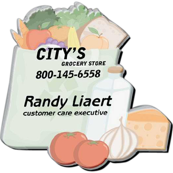 Low Quantity Acrylic Name Badge, Cut Out Of 3 Square Inches Photo