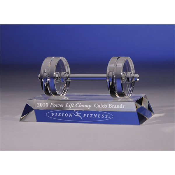Fitness - Fitness Crystal Award By Crystal World Photo