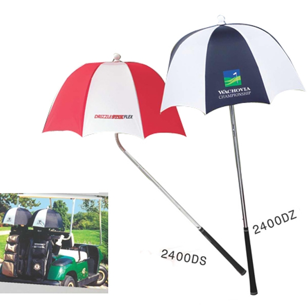 The Drizzlestick(r) - Golf Club Umbrella With Extra Deep Canopy For Exceptional Protection Photo