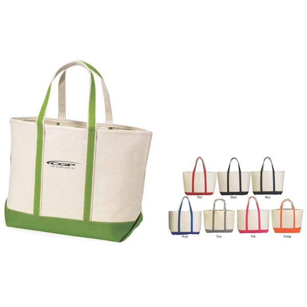 Threads - Tote Bag With Hanging Interior Zipper Pocket Photo