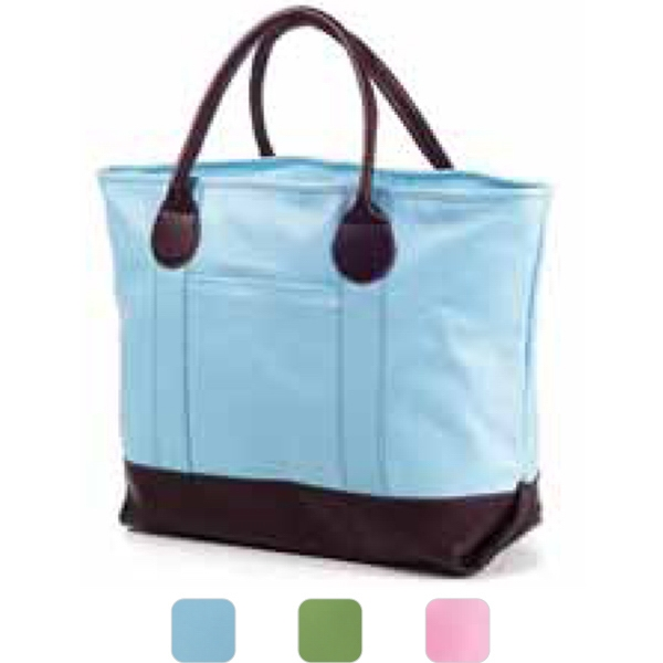 Vachetta Nantucket - Colored Nantucket Tote That Is Perfect For An Everyday Handbag Photo