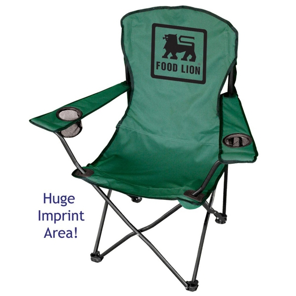 Billboard - Folding Chair With Two Drink Holders And Nylon Carry Bag Photo