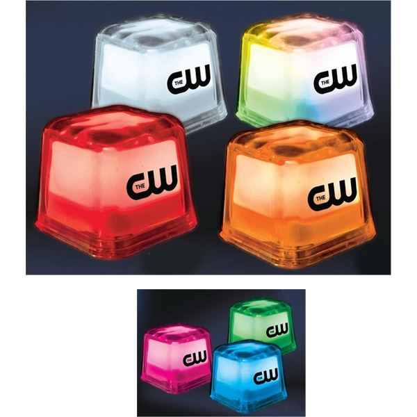 Hollywood Ice lighted ice cubes
