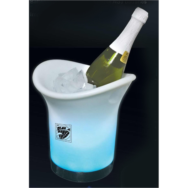 Led Champagne/wine Chiller Ice Bucket, 60 Day Production Photo
