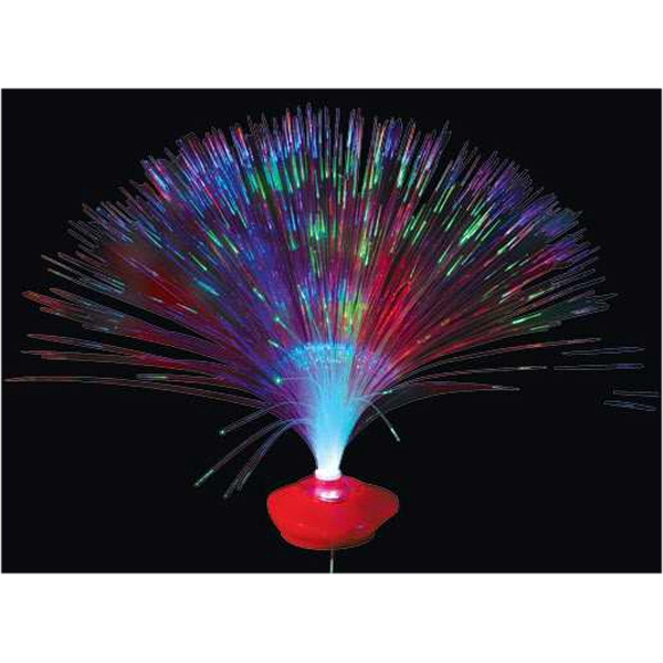 Fiber optic heart lighted centerpiece