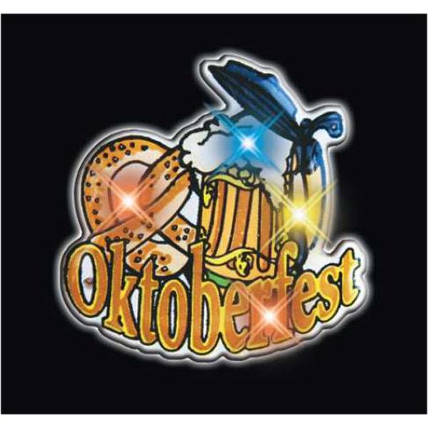Oktoberfest Flashing Pin