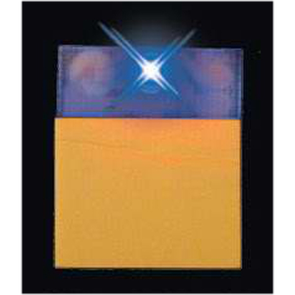 Blue LED P.O.P. adhesive display accessory