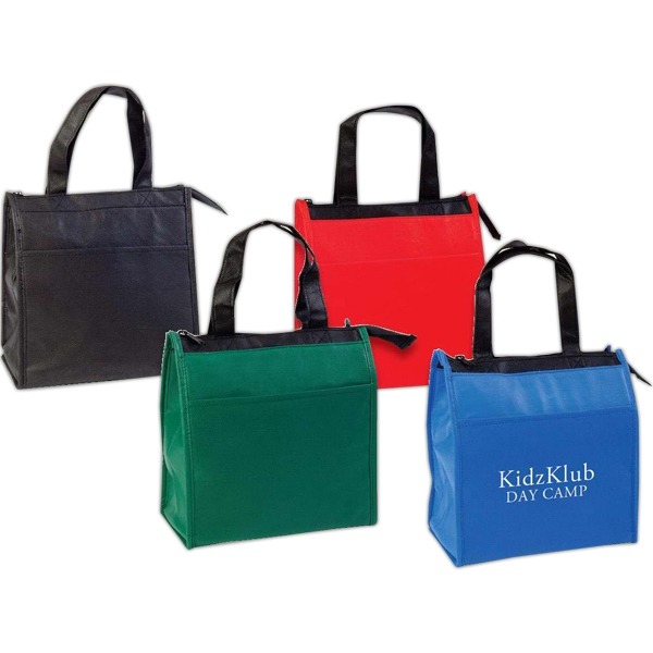 Small Hot And Cold Insulated Tote Bag, Made Of Recyclable Non-woven Polypropylene Photo