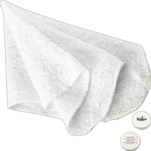 Compressed Hand Towel Or Face Cloth, Closeout Photo