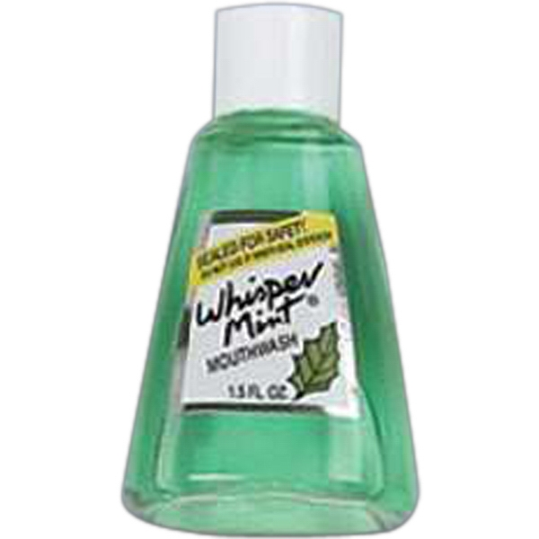 Whispermint - Mouthwash, 1.5 Oz Bottle, Blank Photo
