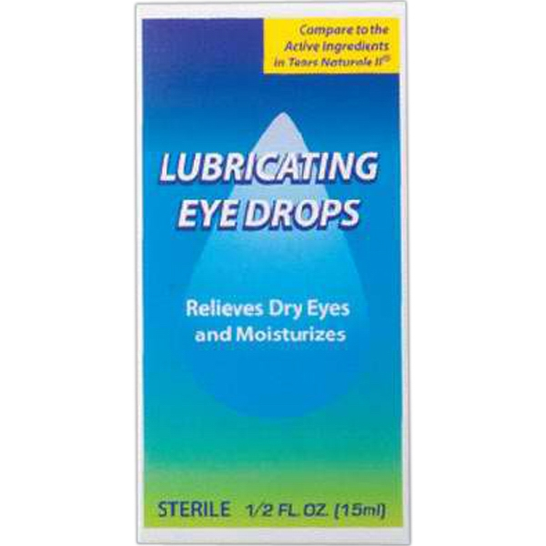 Eye Drops, Artificial Tears (0.5 Oz), Blank Photo