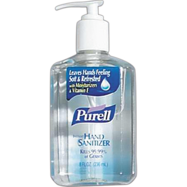 Sanell - Hand Sanitizer, 0.5 Oz Bottle, Blank Photo