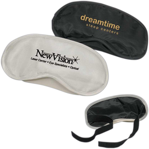 Nylon Eye Shade With Adjustable Comfort Strap With Velcro Closure, Closeout Photo