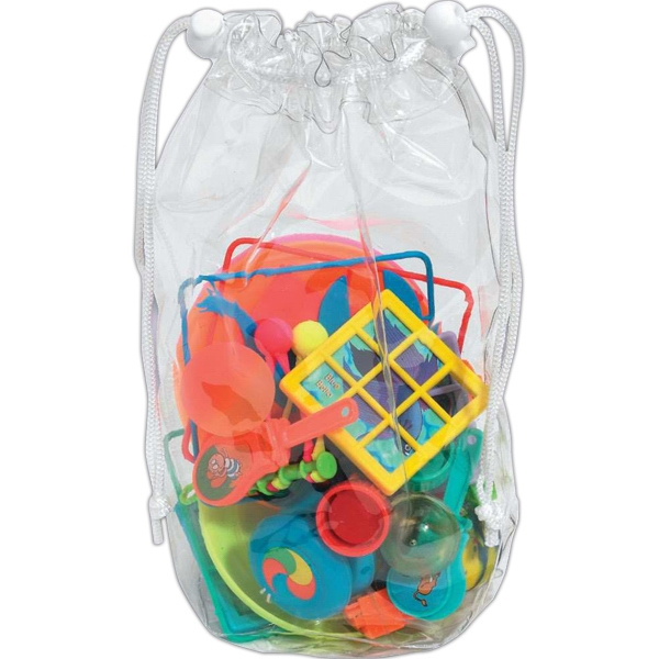 Kids Treasure Bag With 30 Random Fun Toys For Kids Over 3 Years Old Photo