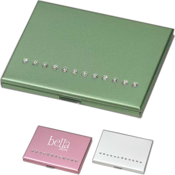 Elegant Compact Mirror And Brush Set, Closeout Photo