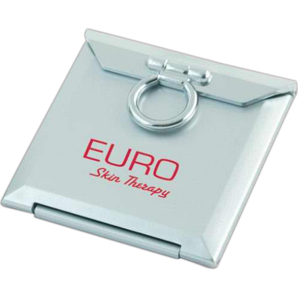 Square Compact Mirror With Standard And 3 X  Magnification, Closeout Photo