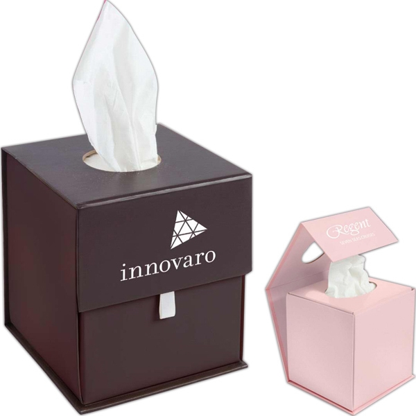 Origami Folding Tissue Container, Closeout Photo