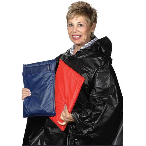 Stadium Cushion With Poncho In Pocket, Closeout Photo