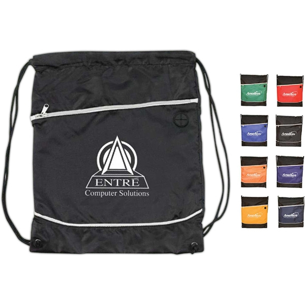 Acapulco - 210d/pu Drawstring Backpack Photo