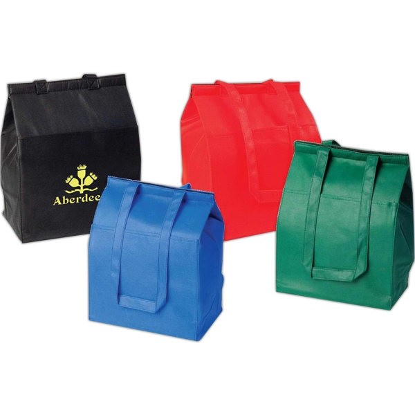 Medium Hot And Cold Insulated Tote Bag, Made Of Recyclable Non Woven Polypropylene Photo