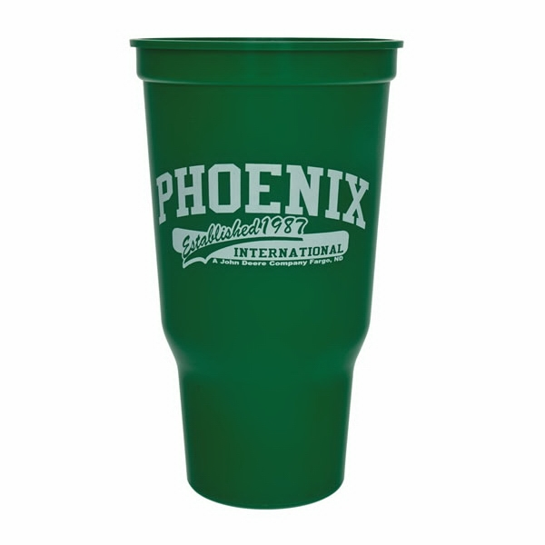 Ergonomic Design, Durable Plastic Stadium Cup, 32 Oz Photo