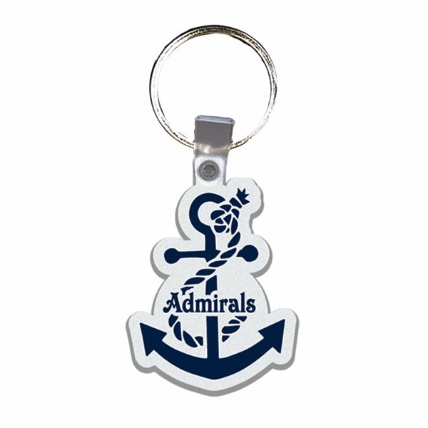 Anchor - Soft Plastic Key Tag Photo