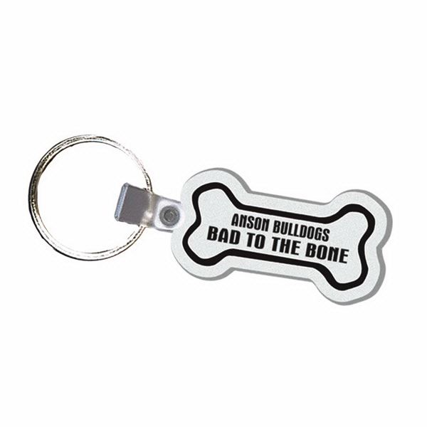 Bone - Soft Plastic Key Tag Photo