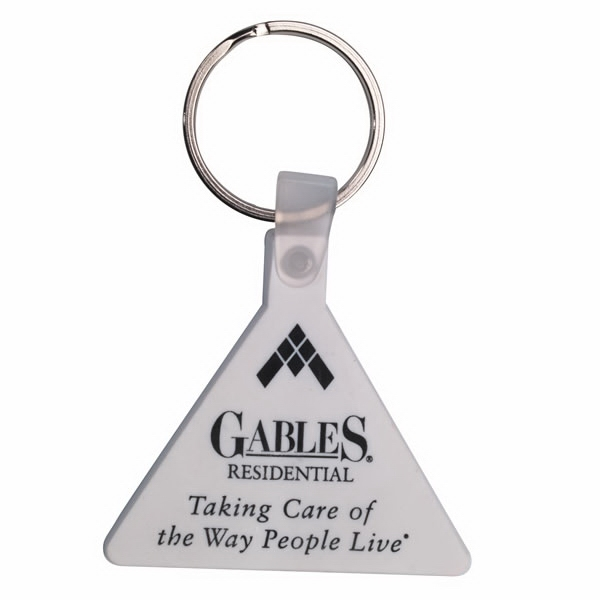Triangle - Soft Plastic Key Tag Photo