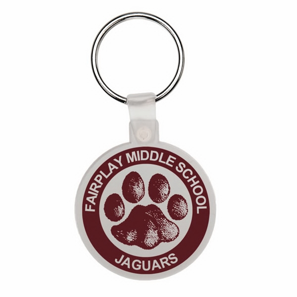 Round - Soft Plastic Key Tag Photo