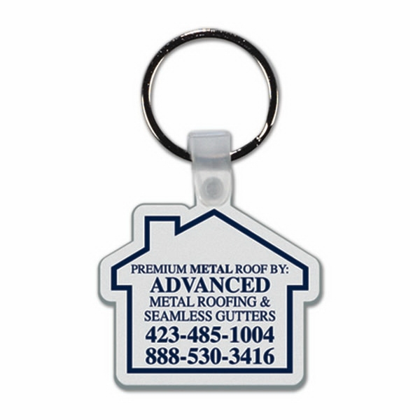 House - Soft Plastic Key Tag Photo