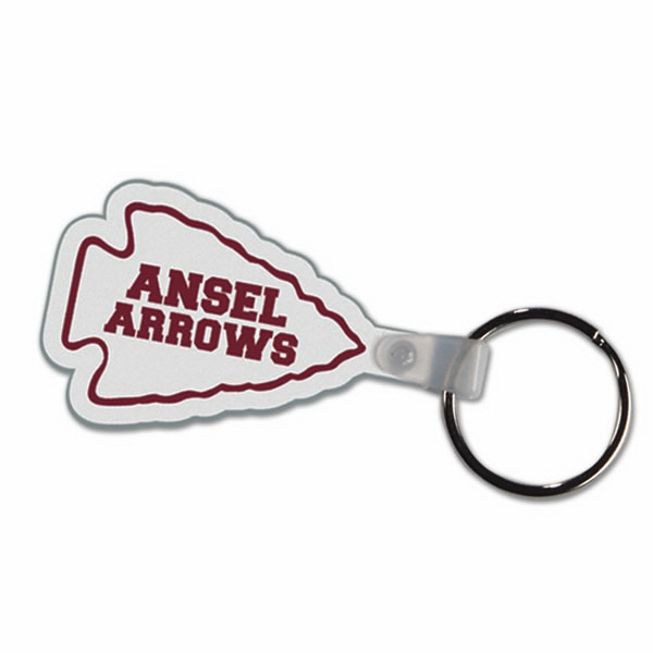 Arrowhead - Soft Plastic Key Tag Photo