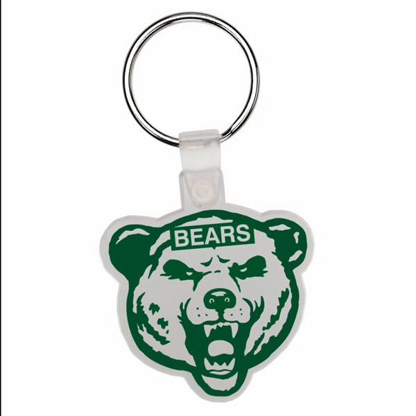Bear - Soft Plastic Key Tag Photo