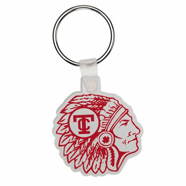 Indian Head - Soft Plastic Key Tag Photo