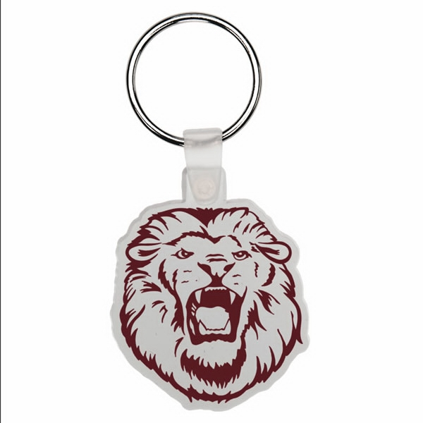 Lion - Soft Plastic Key Tag Photo