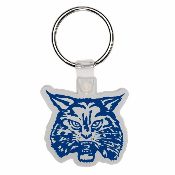 Wildcat - Soft Plastic Key Tag Photo