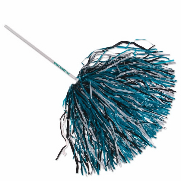 "Rooter - Rooter Handle, 750 Streamers - Poms With Safe 12"" Long Plastic Handle Photo"
