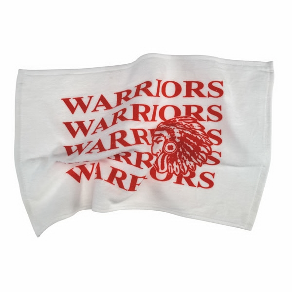Spirit (r) - Velour/hemmed Towel - White Only - Towel For Sports Fans Everywhere Photo