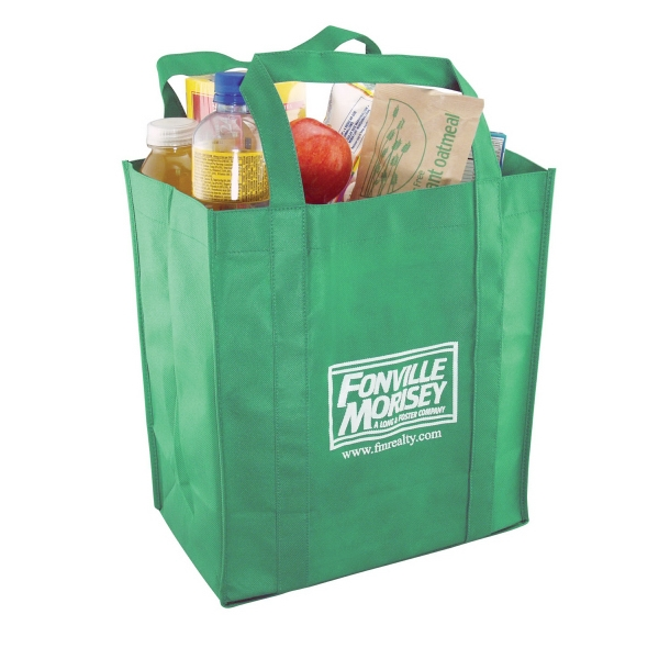 80gsm Non-woven Grocery Bag. Eco Friendly Photo