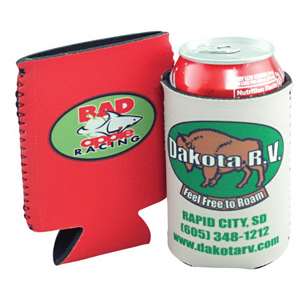 Pocket Pal - Patented Neoprene Insulator Beverage Holder, Sublimated Photo